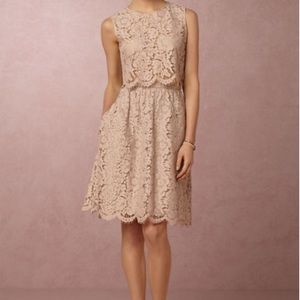 Jenny Yoo Cleo top and Lydia lace skirt